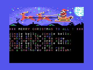 MSX - Merry Christmas Demo 2015 (BASIC)